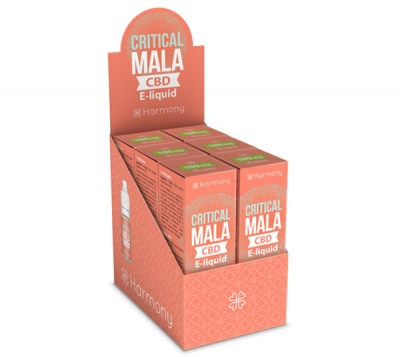Harmony Critical Mala CBD E-Liquid 6er Pack incl. Display Box