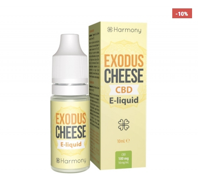 Harmony Exodus Cheese CBD E-Liquid, 10ml
