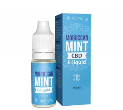 Harmony Moroccan Mint CBD E-Liquid, 10ml