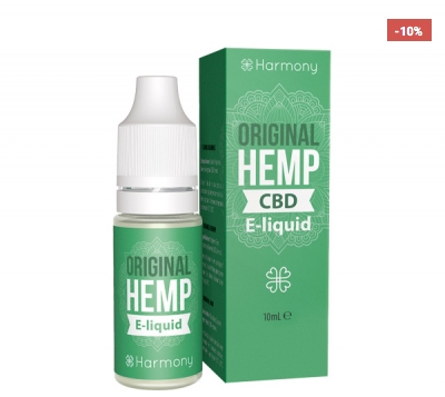 Harmony Original Hemp CBD E-Liquid, 10ml