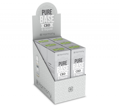 Harmony Pure Base CBD E-Liquid 6er Pack incl. Display Box