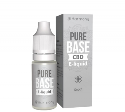 Harmony Pure Base CBD E-Liquid, 10ml