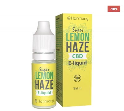 Harmony Super Lemon Haze CBD E-Liquid, 10ml