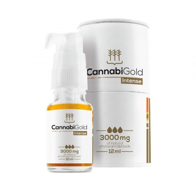 CannabiGold Intense CBD Öl 30%, 12ml
