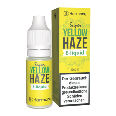 Harmony Yellow Haze CBD E-Liquid 6er Pack incl. Display Box