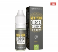 Harmony New York Diesel CBD E-Liquid, 10ml