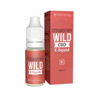 Harmony Wild Strawberry CBD E-Liquid, 10ml